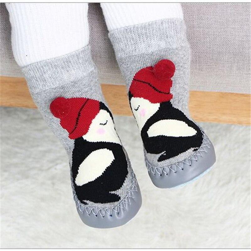 Alamana Fashion Infant Baby Girl Winter Bowknot Anti-Slip Prewalker Toddler Shoes Boot Dark Gray 11cm