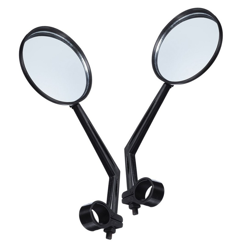 2 Pieces Rear View Mirrors Back Wing Door Steel Glass Reflector For Xiaomi M365 Electric Scooter Accessories