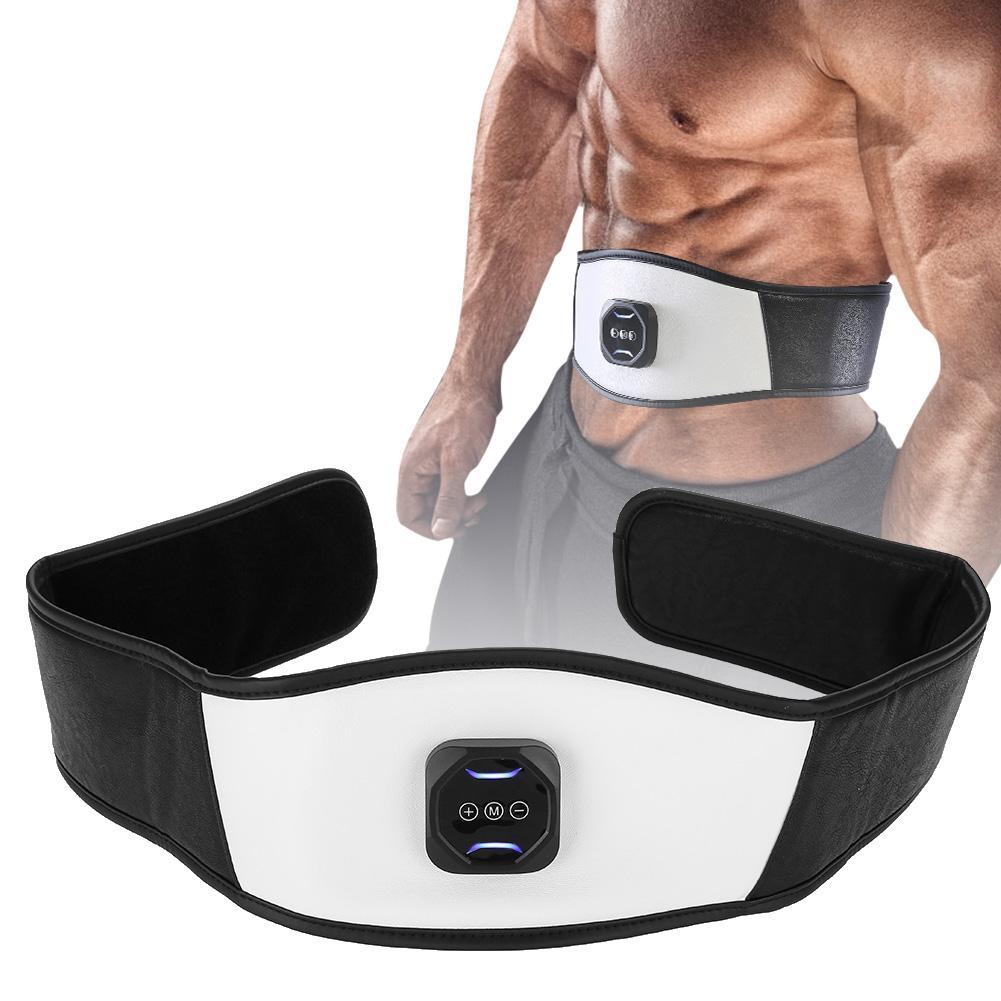 Intensity Massager Belt Adjustable Abdominal Muscle Stomach Body Mass Relax
