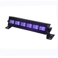 BECOSTAR wall washer black stage lighting effect for KTV DISCO 6pcs LED 3W each one buy now
