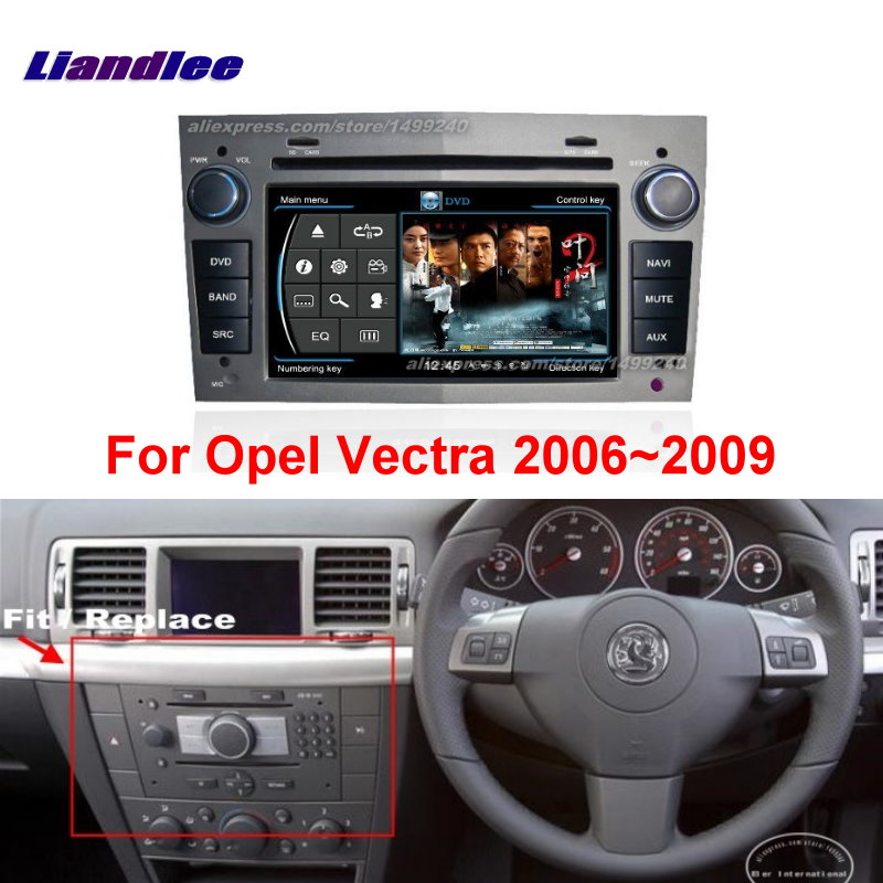 Liandlee 2din For Opel Vectra 2006~2009 Car Android Radio GPS Maps Navigation player BT WIFI HD Screen Multimedia System|navigation system|gps navigation system|gps navigation - title=