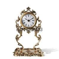 Высококачественный Творческий медь часы Гостиная Декор Бесплатная доставка