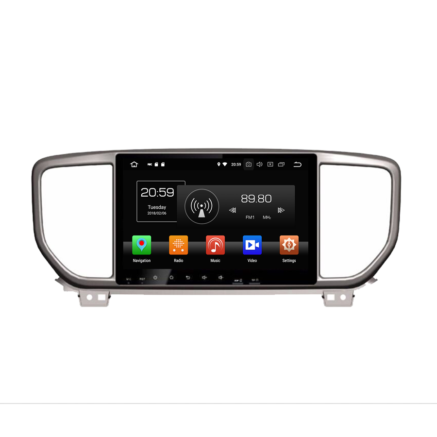 OTOJETA android 8 0 car multimedia font b player b font for kia Sportage 2019 octa