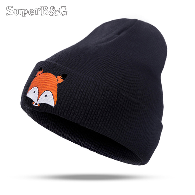 1fe02d2e0e3 SuperB G Women Men Autumn Winter Beanie Hat Knit Skullies Beanies Hat Boys  Girls Warm Gorros Bonnet Keep Warm