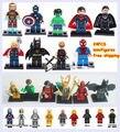 Bloques huecos de figuras de star wars 24 unids/lote gomita educativos diy construcción ladrillos figura juguetes para los niños