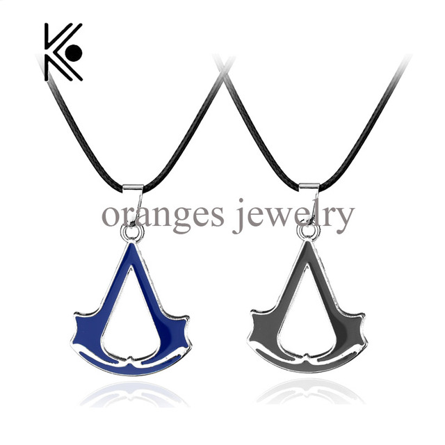 Hot sale assassins creed rope chain blade alloy pendant necklace hot sale assassins creed rope chain blade alloy pendant necklace blue assassins creed black robe leather altavistaventures Gallery