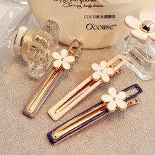 1pcs Fashion Women Girl Korean Fashion Crystal Rhinestone Barrette Hairpins Clips Headwear Hair Band Accessories