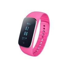 Sports Smart Bracelet Blood Pressure Heart Rate Sleep Monitor Caller ID Reminder IP67 Waterproof Smart Brace for Android iOS