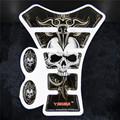 Comum de Yakuza crânio da motocicleta etiqueta tanque de gás Pad Protector Decal para Yama Hon Suzu Kawasa Harley adesivo de cristal