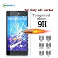 HangRui 0.3mm 9H Tempered Glass Explosion Proof Screen Protector For Sony Xperia Z3 Compact Z1 Compact Z1 Z2 Z3 Z4 Z5 M4 M5