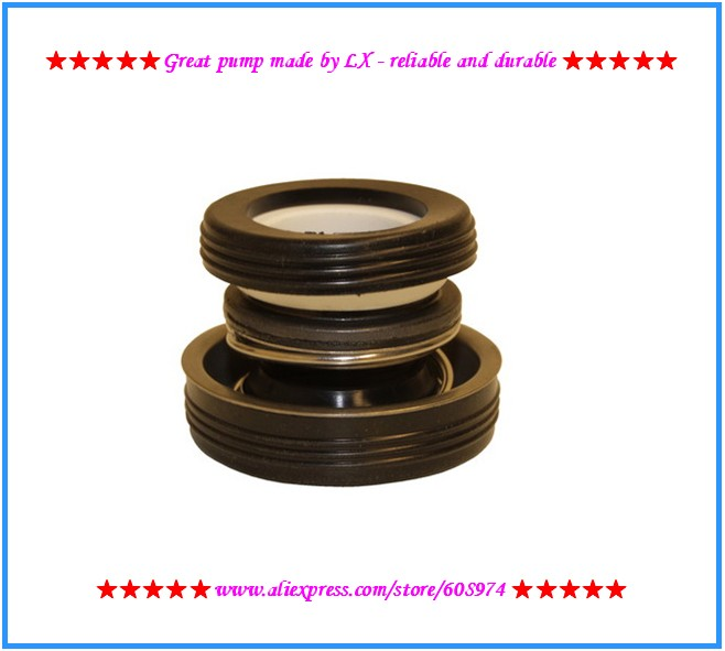 LX Pump mechnical Seal Kit - Fits LP200 LP250 LP300 WP200-II WP300-II Hot Tub Spa Bath Pump shaft seal Hot Tub Spa Jacuzzi Motor cheap pump mechanical seal kit lx pump lp200 lp300 wp200 300 ja50 tda200 ea350 fittings fit lx pump shaft spanet davey qb spa