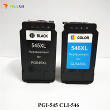 PG-545 CL-546 ink cartridge For Canon PG545 CL546 Pixma MG2400 MG2450 MG2500 MG2550 MG2580 MG2950 MX495 IP2880 IP2850 printer