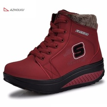 waterproof ladies winter casual snow boots