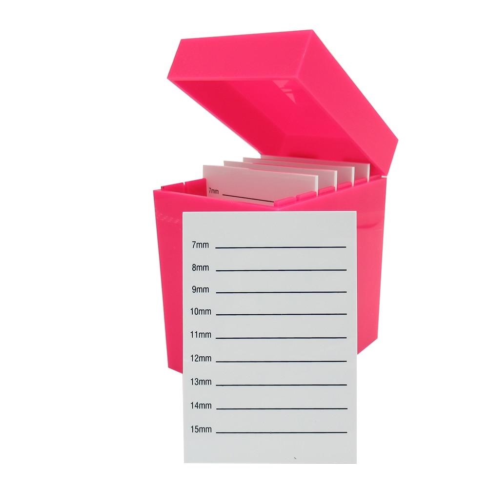 New Acrylic Eyelash Organizer Pink Eyelash Box Do Your Private Label Lash Extension Holder Tools Eyelashes Stand Pad Pallet