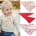 Lovely Baby Bandana Bibs Printed Cotton Infant Bibs Scarf Saliva Towel For Newborn Baby Toddler Slabbers Scarf Baby Accessories