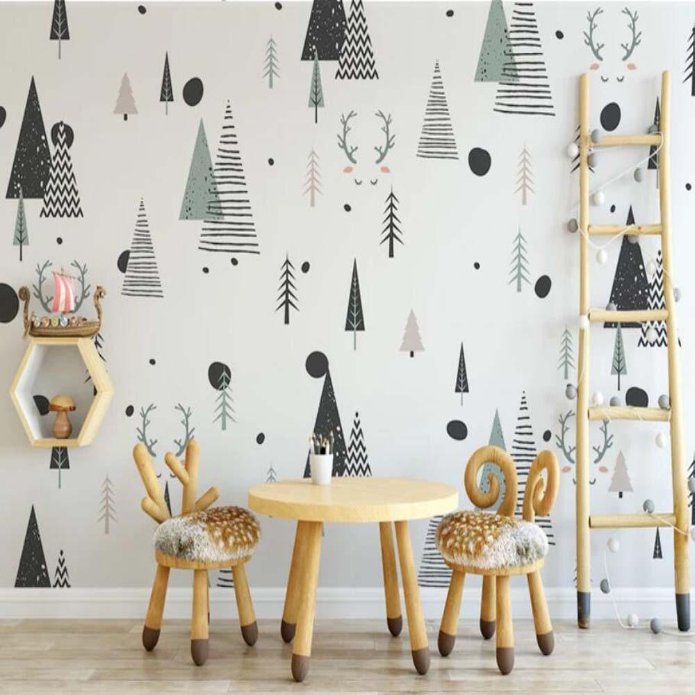 3D Geometric Abstract Wallpaper Mural Art Wall Wallpaper