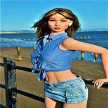 168cm # Ayumi par la mer TPE avec des poupées de sexe squelette en métal réel masturbateur vajina amour poupées poupées de sexe masculin pour les femmes