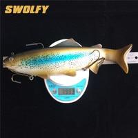 Swolfy 1 шт. большой Размеры мягкий наживки 30 см 400 г Deep Sea Рыболовные приманки Иска искусственный мягкие приманки приманка Рыбалка снасти