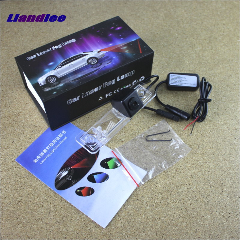 Liandlee Car Tracing Cauda Laser Light For Opel Astra G Saloon (F69) 1998~2005 Modified Special Anti Fog Lamps Rear Lights speed test counting module for smart tracing car yellow
