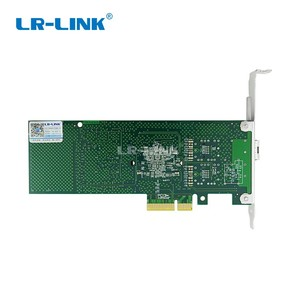 Image 4 - LR LINK tarjeta de red Ethernet óptica de fibra Gigabit, adaptador de servidor de tarjeta Lan PCI Express de 1000Mb, INTEL 82546 Nic, 9701EF SFP