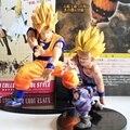 Figuras de Acción de Dragon Ball Z Super Saiyan Goku y Gohan Kamehameha Modelo Juguetes