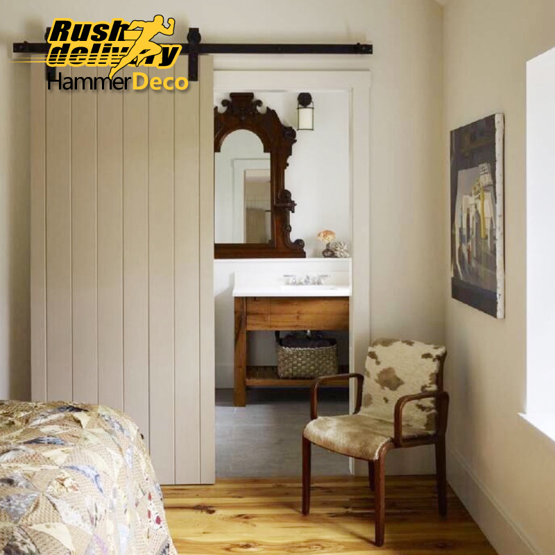 1500 2500mm Heavy Duty Vintage Wooden Sliding Interior Barn Door Ings American Country Kits In Doors From Home Improvement On