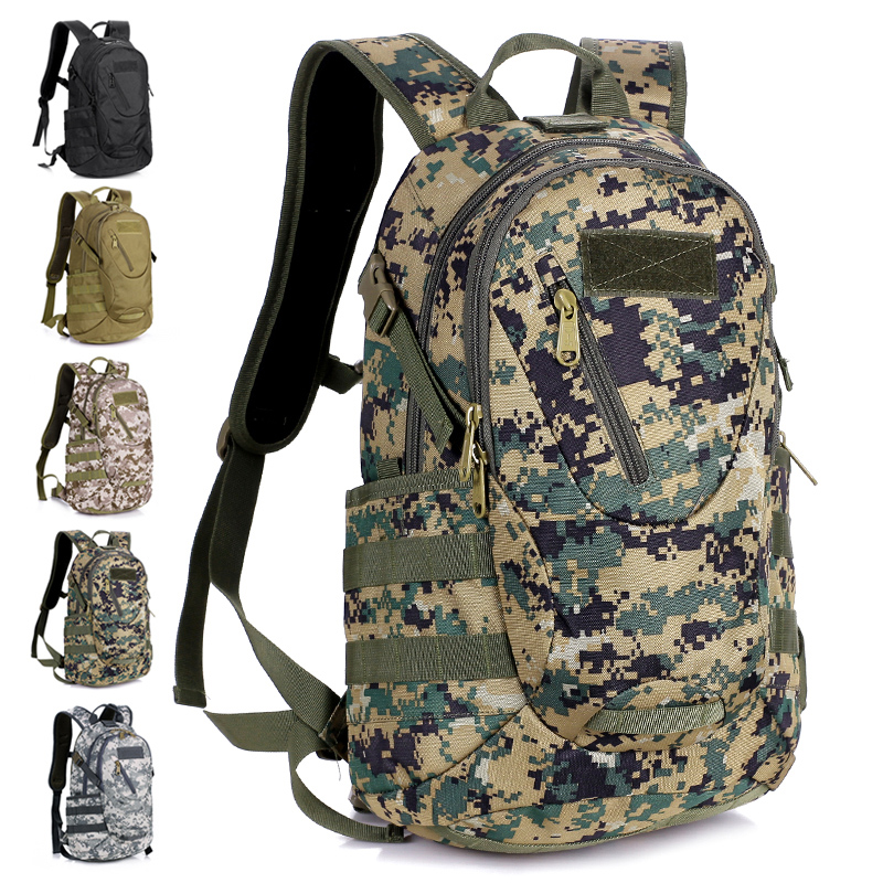 Lovers outdoor sport travel small army green Camouflage waterproof ...