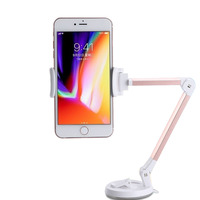 Phone Holder 360 Degree Adjustable Desktop Table Car Mount Sturdy Cradle With Suction Cup For IPhone