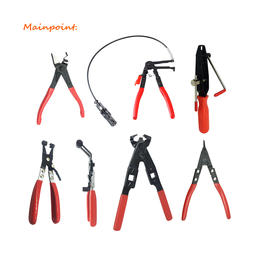 Cable Type Flexible Wire Long Reach Hose Clamp Pliers Multi-tool Car Repairs  Removal Hand Tools Auto Vehicle Tools Alicate