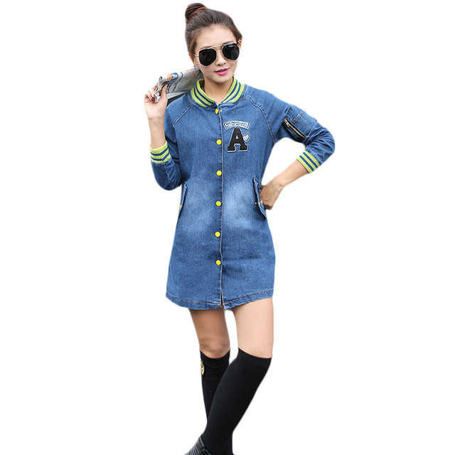 Новый прибыл осень зима Пальто женщина Свободно Моды Случайные Куртки с длинными рукавами тонкий Все матч Бейсбол Одежда Women'sClothing