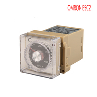 OMRON E5C2 Pointer Temperature Controller, K Type Thermostat,0 200/400 Degrees Celsius Controlling Temperature Unit