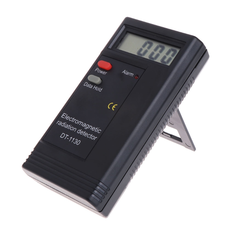 Elektromagnetische Strahlung Detektor LCD Digital EMF Meter Dosimeter Tester DT1130 #0616