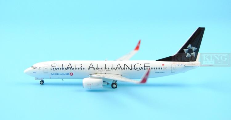 Special offer: Wings XX4943 JC Turkey Airlines TC-JFI 1:400 B737-800/w commercial jetliners plane model hobby spike wings xx4502 jc turkey airlines b777 300er san francisco 1 400 commercial jetliners plane model hobby
