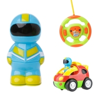 High Quality Cartoon R C Race Car Radio Control Toy Lighting For Toddlers Kids 330