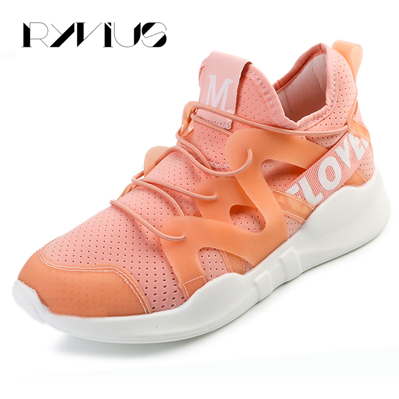 2017 Women Casual Shoes Breathable Hollow Flat Height Increasing Shoes Superstar Light Ladies Platform Creepers Espadrillas Pink