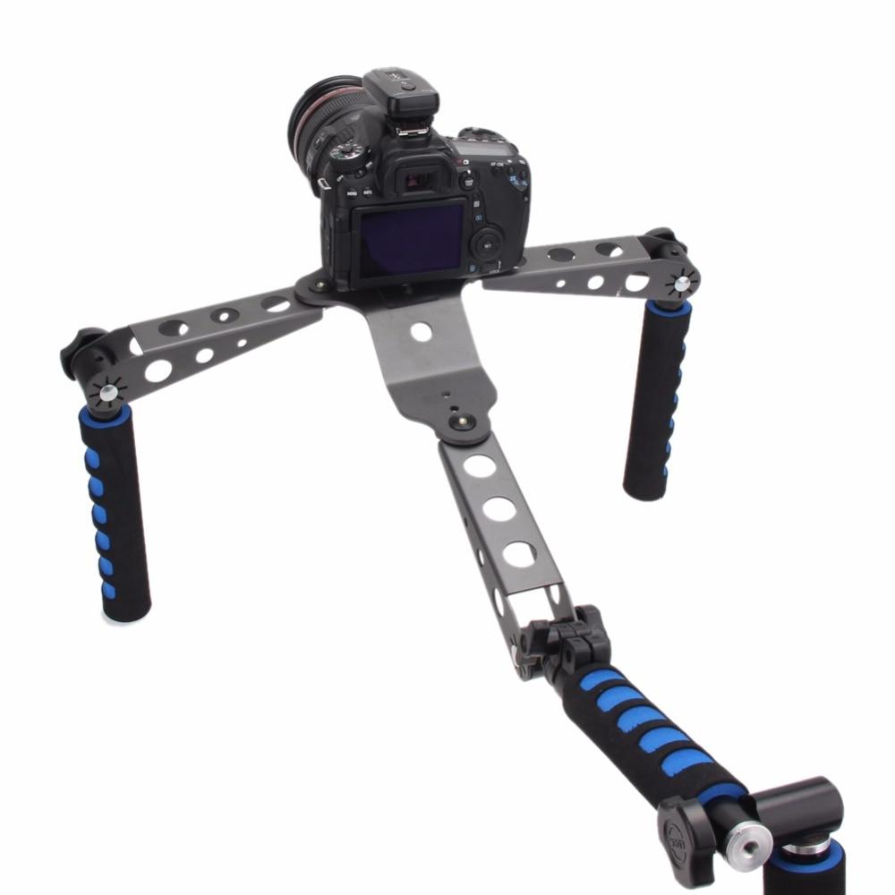 SUPON DSLR Filmmaking System Shoulder Mount Stabilization Stabilizer for Canon Nikon Sony Panasonic DSLR Cameras And