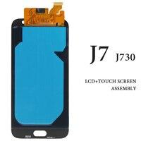3pcs For Samsung Galaxy J7 2017 LCD Display J730 J730F White Black Gold No Dead Pixel