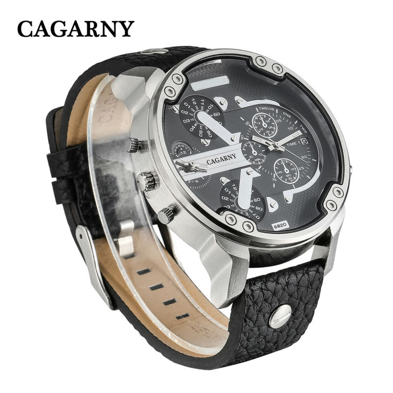 dual time zones military mens watches   (15)