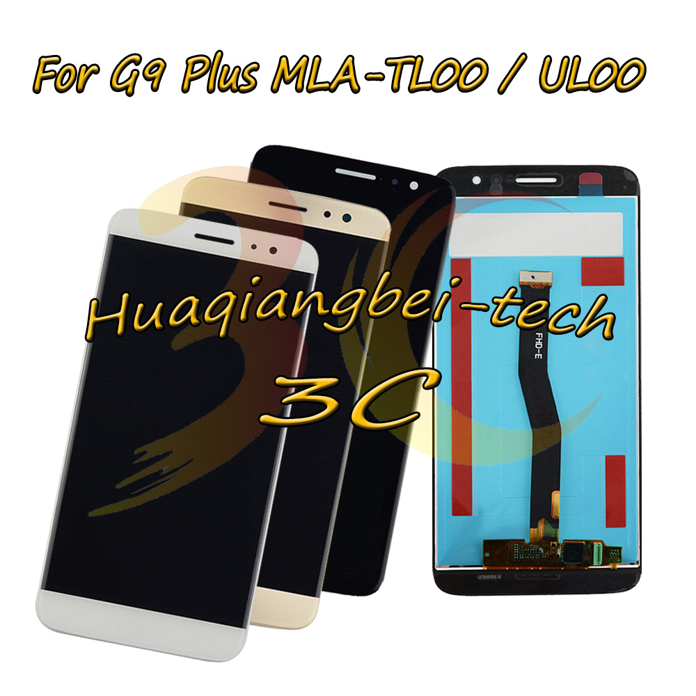 5.5 New For Huawei G9 Plus G9Plus MLA-TL00 MLA-UL00 Full LCD DIsplay + Touch Screen Digitizer Assembly 100% Tested5.5 New For Huawei G9 Plus G9Plus MLA-TL00 MLA-UL00 Full LCD DIsplay + Touch Screen Digitizer Assembly 100% Tested