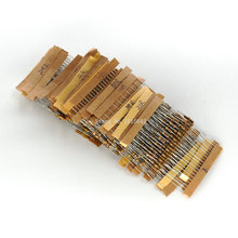 500PCS/LOT 50 Values Each 10Pcs 1 ohm-10M ohm 1/4W Power 0.25W 1% Tolerance Carbon Film Resistors Assorted Assortment Kit цена