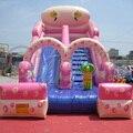 Grado Comercial gigante Tobogán Inflable Para Niños Juegos