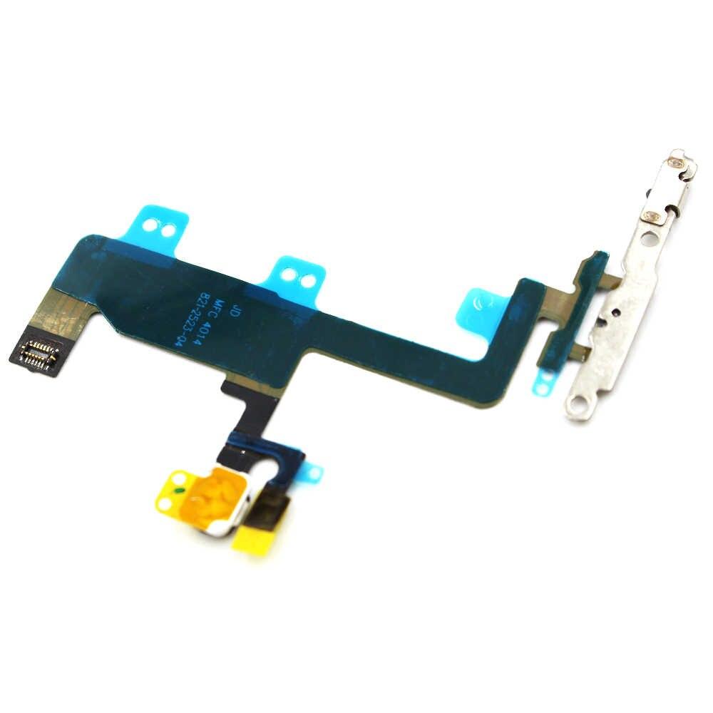 """Оригинальный Новый Мощность Кнопка Flex с Камера Flash микрофон кабель Замена для iPhone 6 4,7 """"протестировано"""