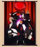 Home Decor Wall poster Scroll Naruto Akatsuki Orochimaru uchiha madara Sasuke