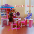 New arrival girl gift play toy doll house Cosmetic Center furniture for BJD simba lica barbie doll house