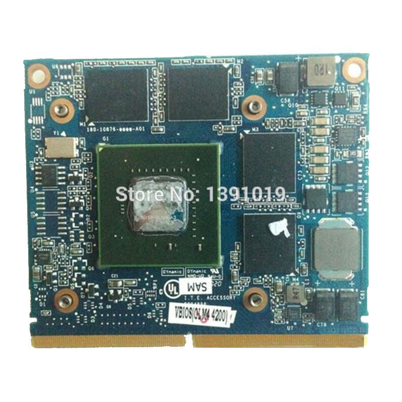 ФОТО Original Graphic Card Video Display Card For HP 8540W 8540P FX880M 1GB LS-4951P 595821-001 Working Well Tested