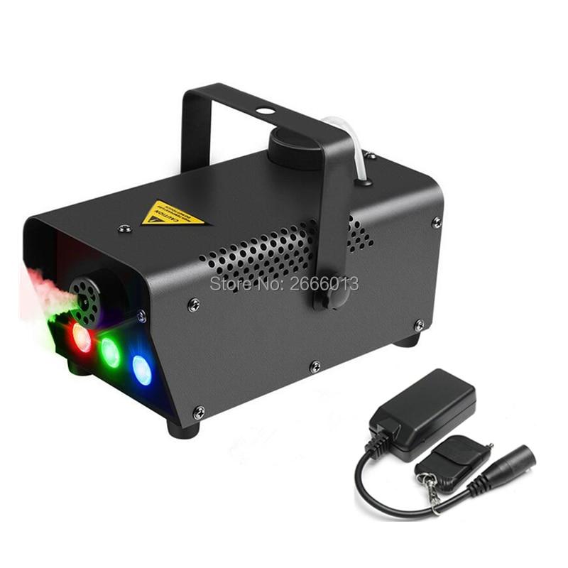 Niugul Wireless Remote Control 500W LED Fogger /500W Smoke Machine For Disco Halloween Home Party/500W Smoke Ejector/Fog Machine