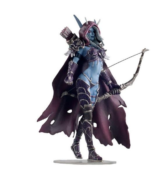 Windrunner Action Figure World of Warcraft Forsaken Queen Sylvanas Kid Toy Gift 2