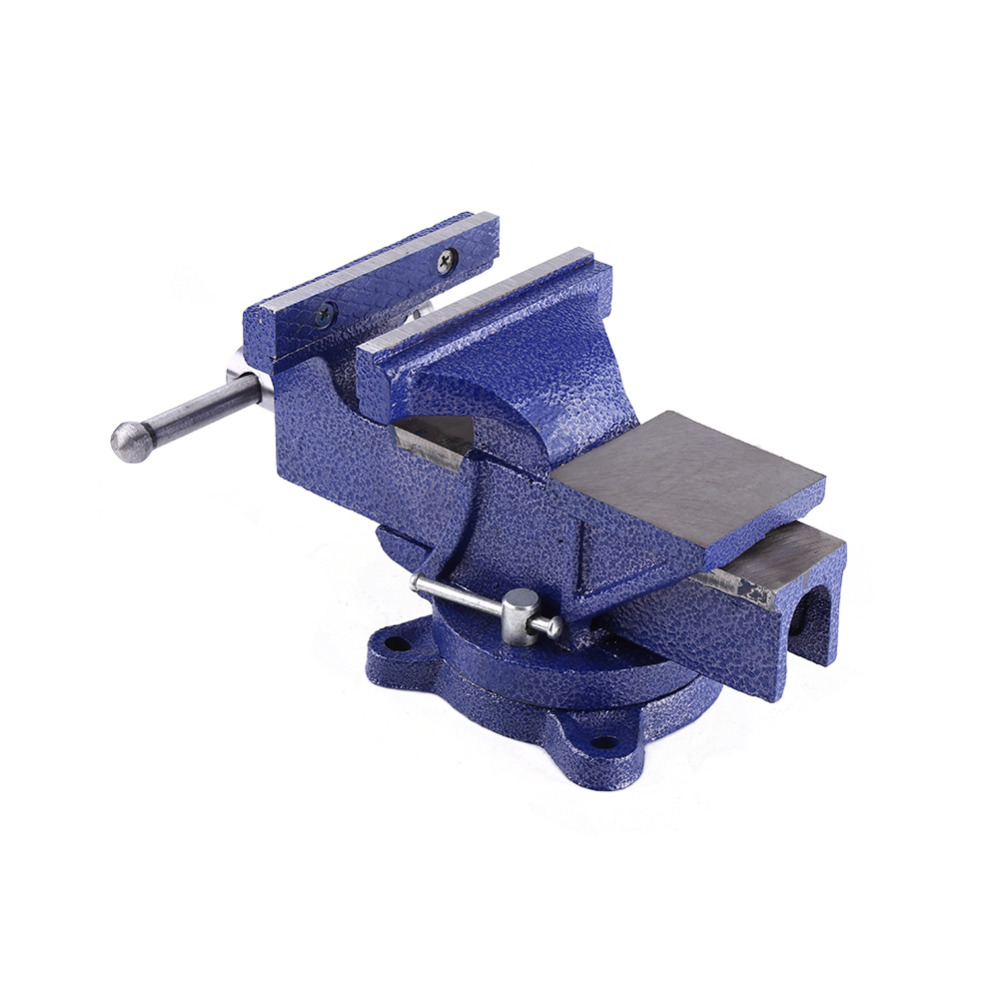6 12Kg Engineers Vise Heavy Duty Swivel Base Clamp Jaw Work Bench Vise Clamp Milling Metalworking
