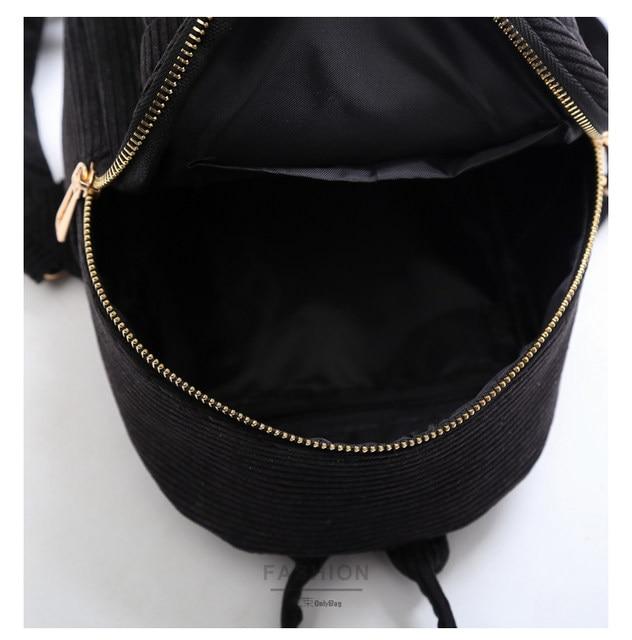 Cute velvet Backpack For Teenagers Children Mini Back Pack Kawaii Girls Kids Small Backpacks female Packbags Fur ball school bag (13)