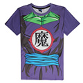 New Arrive Piccolo Cosplay T Shirt  Cartoon Dragon Ball Z T-shirts Tees Tops Casual Short Sleeve DBZ Summer  Shirt